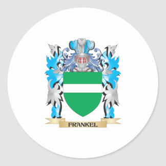 Frankel Coat of Arms - Family Crest Classic Round Sticker