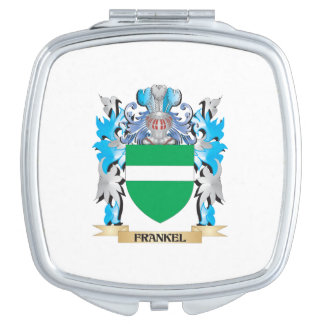Frankel Coat of Arms - Family Crest Compact Mirrors
