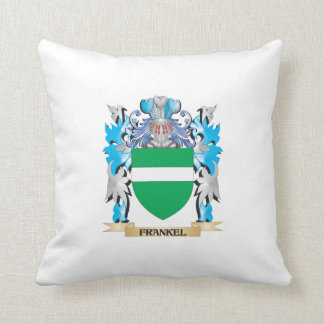 Frankel Coat of Arms - Family Crest Throw Pillows