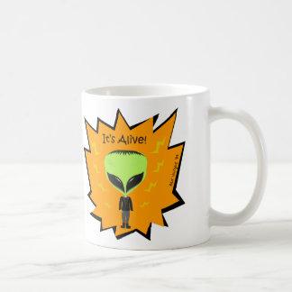 Franken Alien Mug