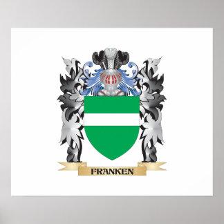 Franken Coat of Arms - Family Crest Poster