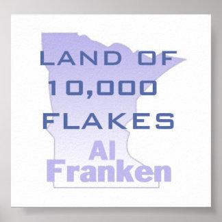 FRANKEN Flakes Poster