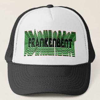 Frankenbent eye strainer hat!!! trucker hat