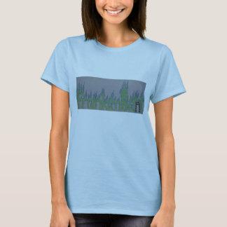 Frankenbent flaming logo womens shirt! T-Shirt