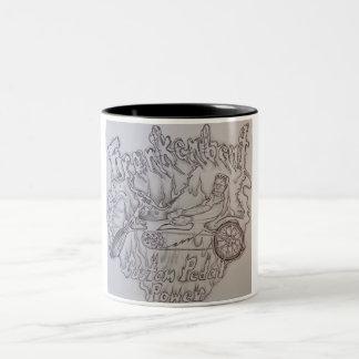 Frankenbent freehand logo artwork coffee mug!