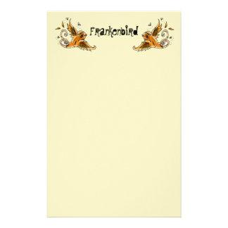 Frankenbird inmóvil papelería de diseño