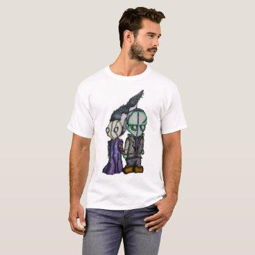 Halloween Themed FrankenBride T-Shirt