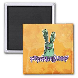 frankenbunny 2 inch square magnet
