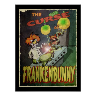 Frankenbunny Posters