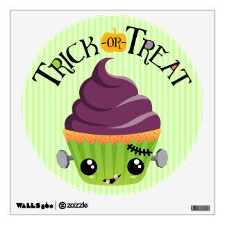 Frankencake - Cute Halloween Trick or Treat Wall Decal