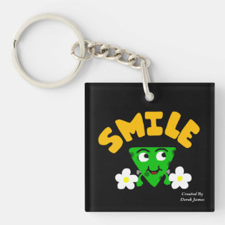 FrankenCheese Smile Key Chain