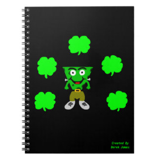 FrankenCheese St. Patrick's Day Photo Notebook