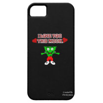 FrankenCheese Valentine's Day iPhone 5/5S Case