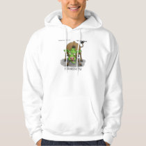 """""""FrankenCow"""" Funny Halloween Gifts & Collectibles Hoodie"""