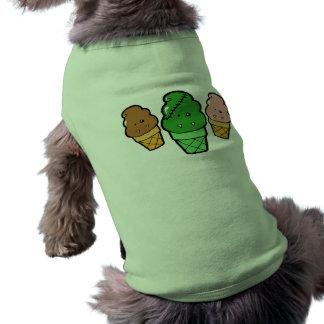 Frankencream Monster Ice Cream Cones Pet Shirt