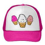 Frankencream Monster Ice Cream Cones Trucker Hats