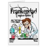 Frankendad Greeting Card
