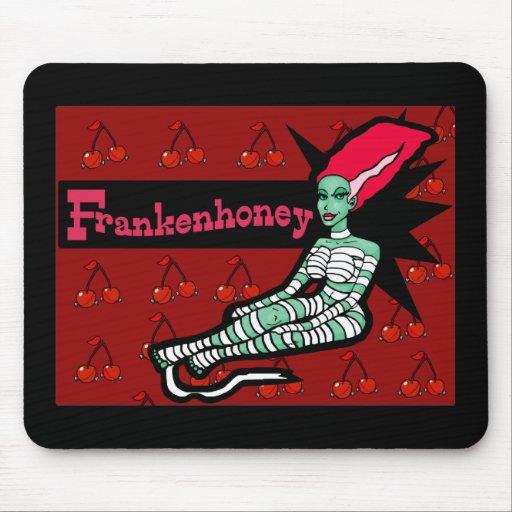 Frankenhoney Bride of Frankenstein Mouse Pad