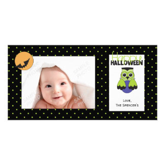Frankenhoot Halloween Photo Cards