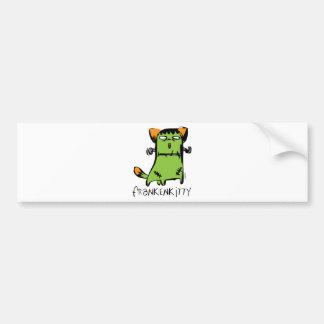 FrankenKitty Bumper Sticker