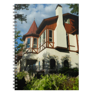 Frankenmuth Bavarian Architecture Travel Diary Spiral Note Book