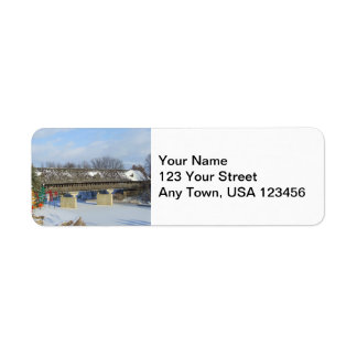 Frankenmuth Covered Bridge Return Address Labels