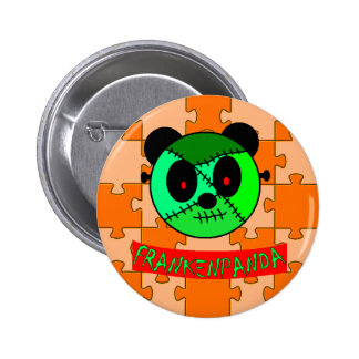 Frankenpanda Halloween buttons and gifts!