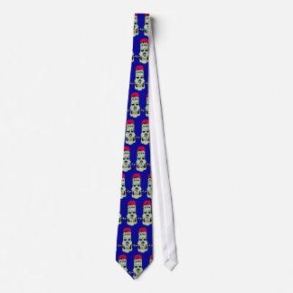 Frankenskull Tiled Tie
