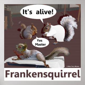 Frankensquirrel Poster