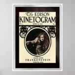 Frankenstein 1910 poster