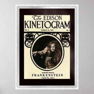 Frankenstein 1910 póster