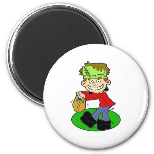 Frankenstein 2 Inch Round Magnet