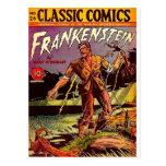frankenstein-3 tarjetas postales