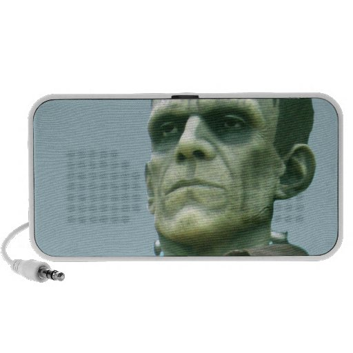 Frankenstein and Azure Skies - Photograph Portable Speakers