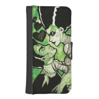 Frankenstein and his Bride iphone wallet iPhone 5 Wallets