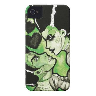 Frankenstein and his Bride phone case Case-Mate iPhone 4 Case