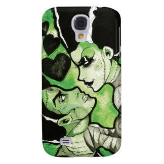 Frankenstein and his Bride phone case Samsung Galaxy S4 Case
