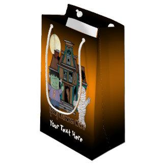 Frankenstein and Mummy Halloween Gift Bag