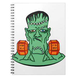 Frankenstein bajo pesos note book