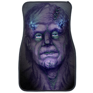 FRANKENSTEIN BOLT ART JACK JOYA CAR MAT
