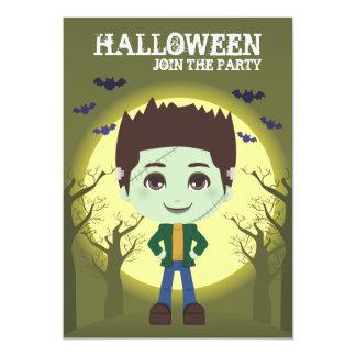 Frankenstein Boy Invite