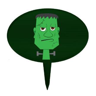 Frankenstein Cake Pick in Green