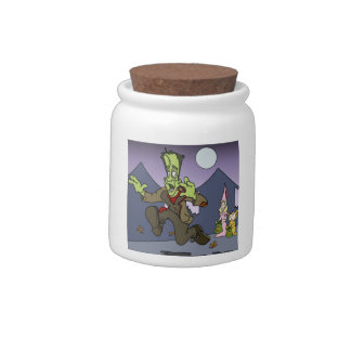 Frankenstein Candy Jar