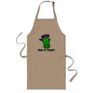 Frankenstein Cards & Bags Long Apron