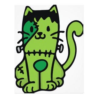 Frankenstein Cat Letterhead