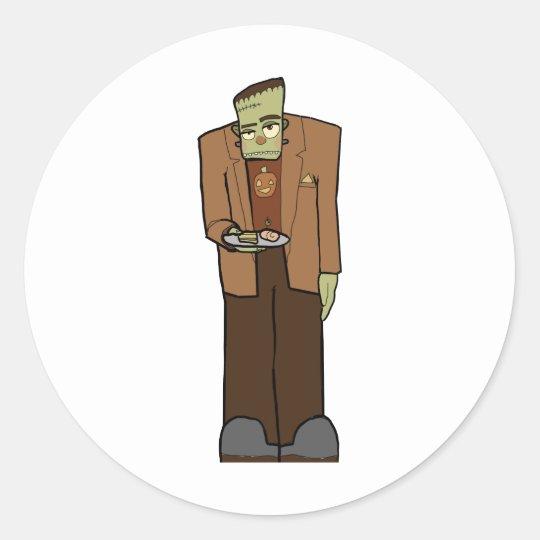 Frankenstein Classic Round Sticker