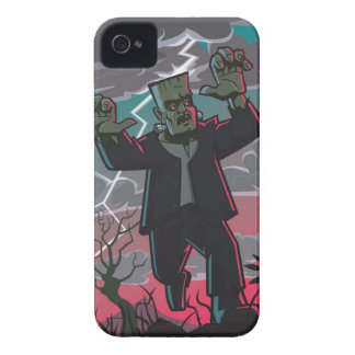 frankenstein creature in storm iPhone 4 case