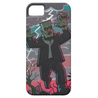 frankenstein creature in storm iPhone SE/5/5s case