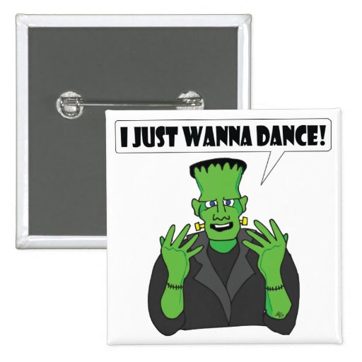 FRANKENSTEIN dance Pinback Buttons