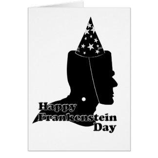 Frankenstein Day Card